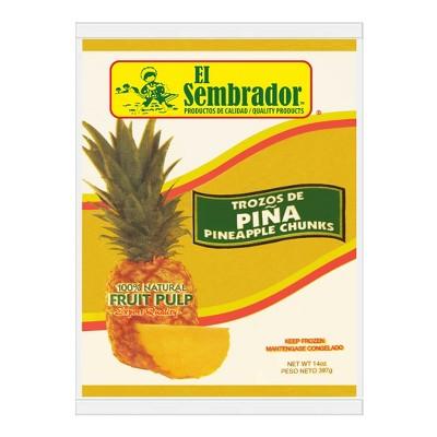 El Sembrador Frozen Pulp Pineapple - 14oz
