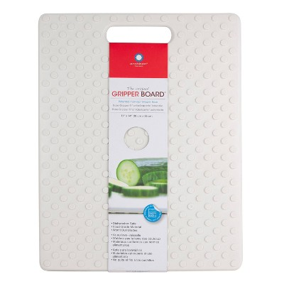 "Architec Our Original Gripper Cutting Board 11""x14"" White"