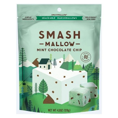 SmashMallow Mint Chocolate Chip Marshmallows - 4.5oz - image 1 of 1