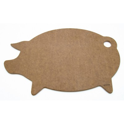 Epicurean Novelty Series Pig Shaped Cutting Board