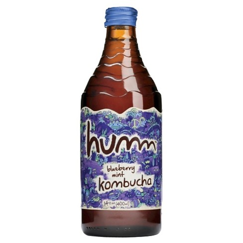 Humm Blueberry Mint Kombucha 14 oz - image 1 of 1
