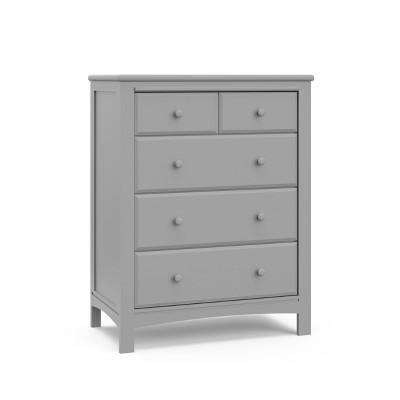Graco Benton 4 Drawer Dresser - Pebble Gray