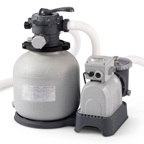 Intex Krystal Clear 3000 Gph Above Ground Swimming Pool Filter Pump ...