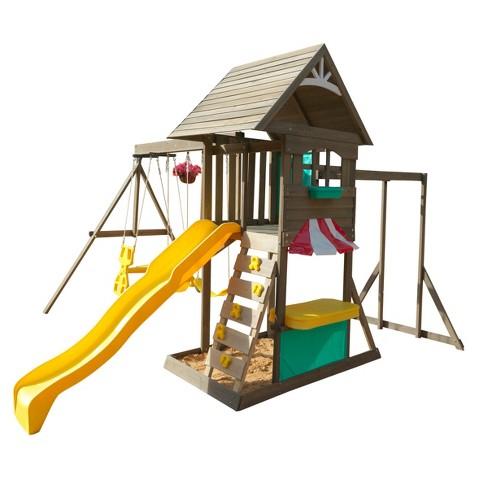 KidKraft Hampton Swing Set/Playset - image 1 of 4