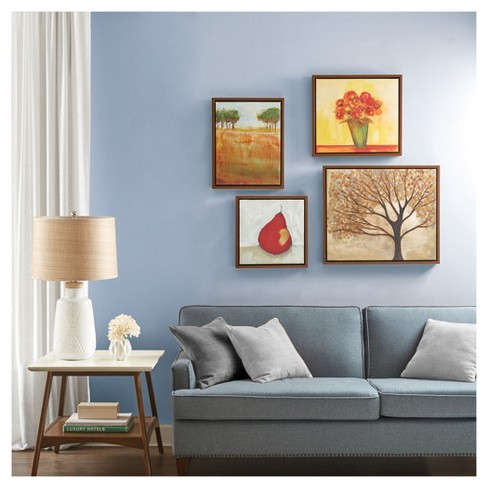 The Autumn Orchard Gallery Framed Canvas 4pc Set 24.8 X 35.24 X 6.7 - Trends International - image 1 of 1