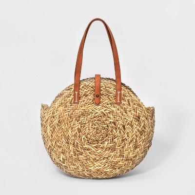 Shopper Tote Handbag - Universal Thread™ Natural