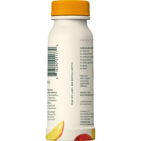 Chobani Mangolicious Greek Style Yogurt Drink - 7 fl oz - image 1 of 4