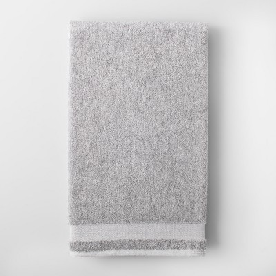 Solid Bath Sheet Light Gray - Made By Design™