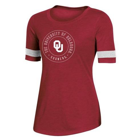 NCAA Oklahoma Sooners Women's Short Sleeve Crew Neck T-Shirt - image 1 of 2
