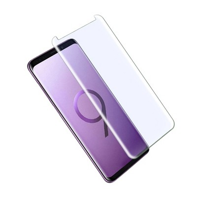 For Samsung Galaxy S9 Screen Protector, by Insten Clear Tempered Glass Screen Protector LCD Film Guard Shield compatible with Samsung Galaxy S9