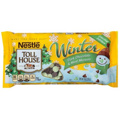 Baking Chips & Chocolate: Nestlé Toll House Dark Chocolate & Mint Morsels