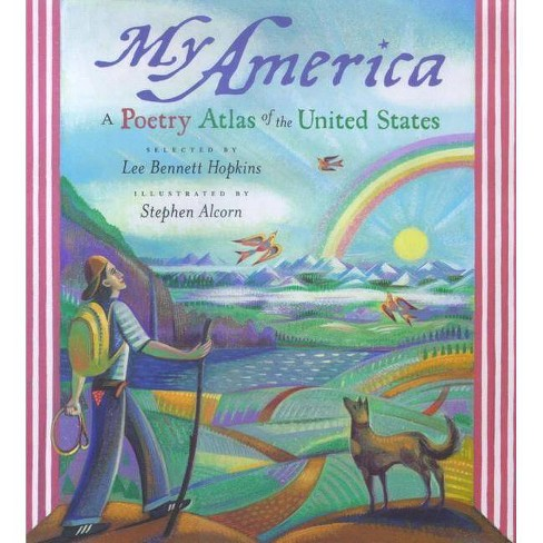 My America - by  Lee Bennett Hopkins (Hardcover) - image 1 of 1