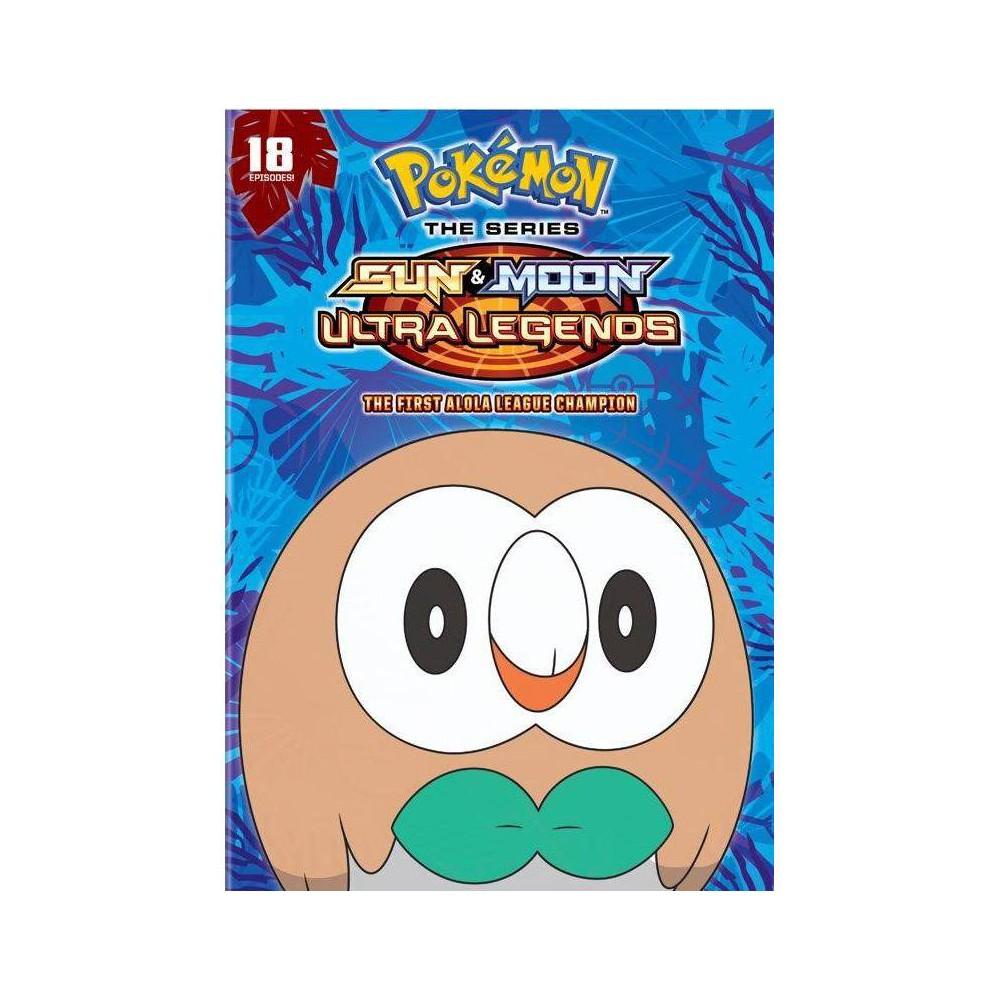 Pokemon The Series Sun And Moon Ultra Legends The First Alola League Champion Season 22 Set 3 Dvd 2021