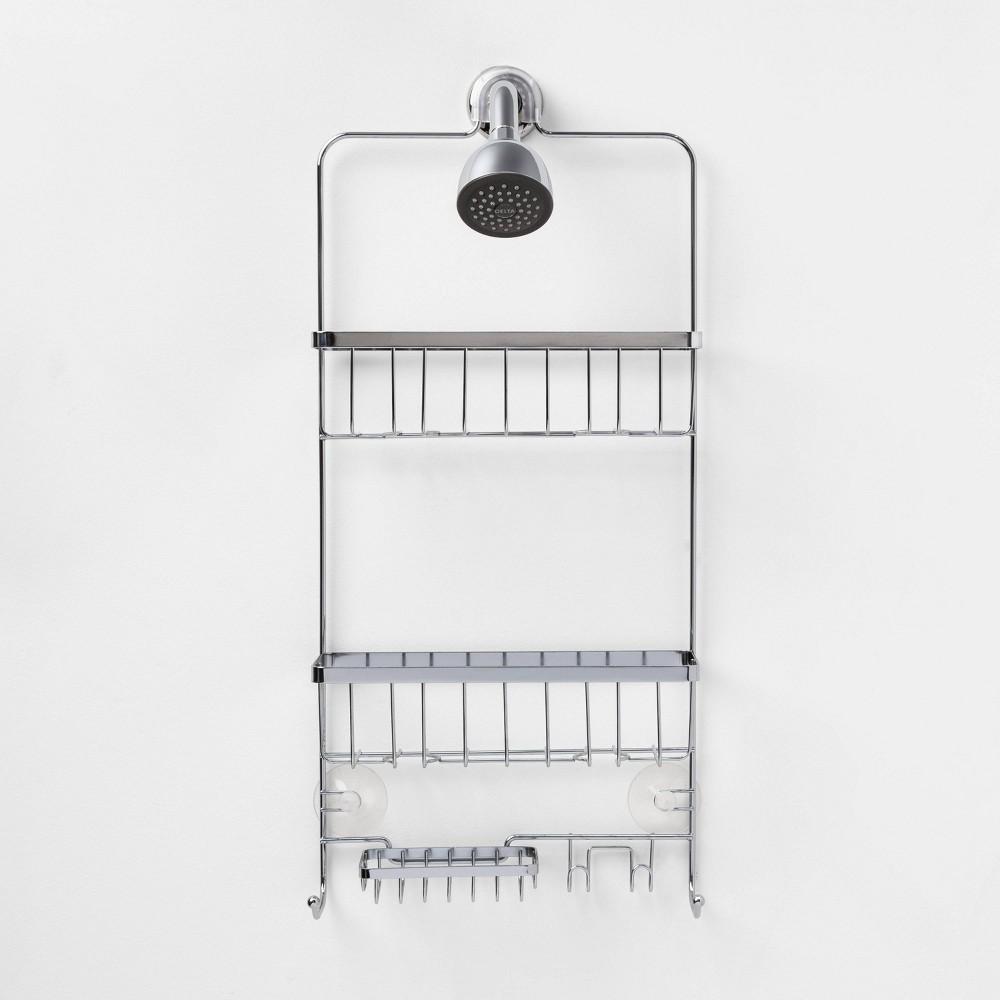 Image of Bathroom Shower Caddy Chrome - Made By Design
