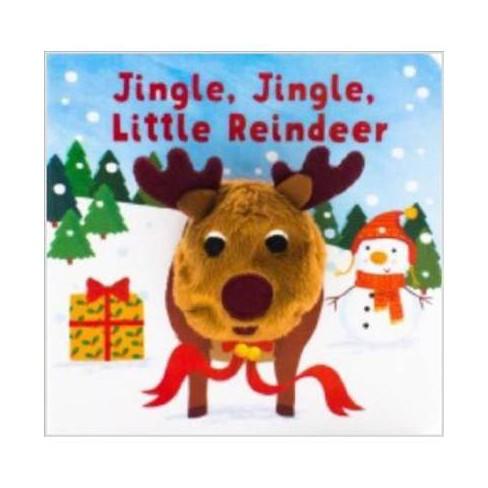 Jingle, Jingle, Little Reindeer - (Finger Puppet Board Book) (Board_book) - image 1 of 1