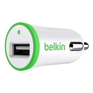 Belkin Car Charger - Green/White