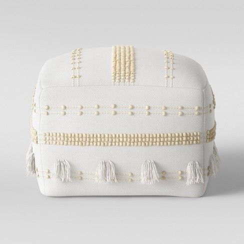 Lory Pouf Textured - Opalhouse™ - image 1 of 4
