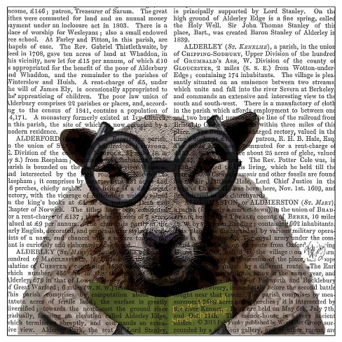 Thirstystone Animal Print Coasters Set of 4 - Intelligent Sheep - image 1 of 1