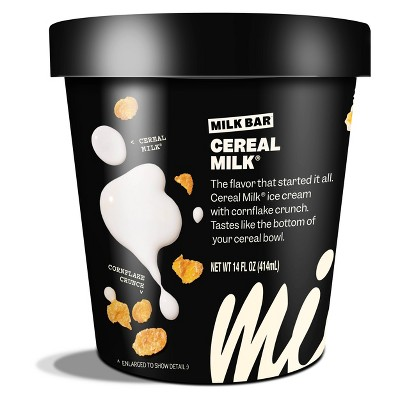 Milk Bar Cereal Milk Premium Ice Cream - 14oz