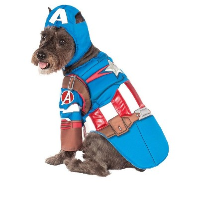 Rubies Captain America Deluxe Pet Costume