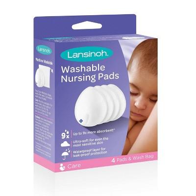 Lansinoh Washable Nursing Pads - 4ct
