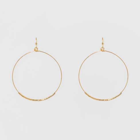 Hoop Earrings - A New Day™ Gold - image 1 of 2