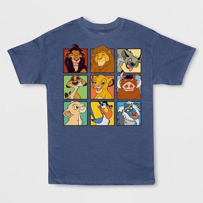 8db017ff Boys' Disney Lion King Short Sleeve Graphic T-Shirt – Denim Heather ...