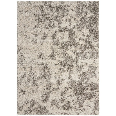 Nourison Amore Cobble Stone Shag Area Rug