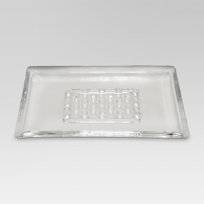 Frosted Soap Dish Clear - Threshold™