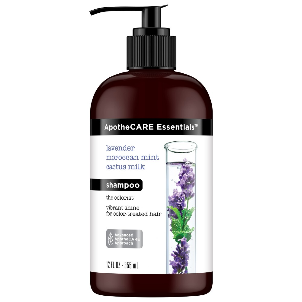 ApotheCARE Essentials With Lavender Moroccan Mint & Cactus Milk Shampoo - 12 fl oz