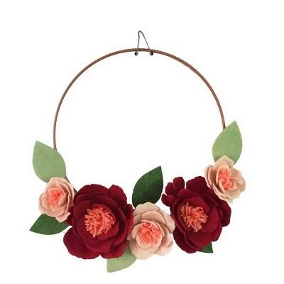 Floral Peony Wreath - Spritz™