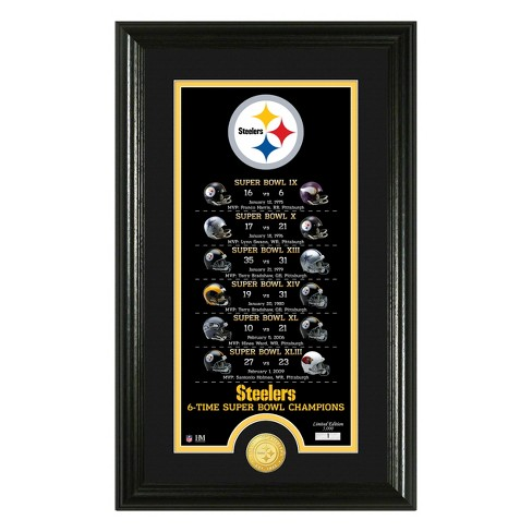 3226a710 NFL Pittsburgh Steelers Highland Mint Legacy Minted Coin Photo Mint ...