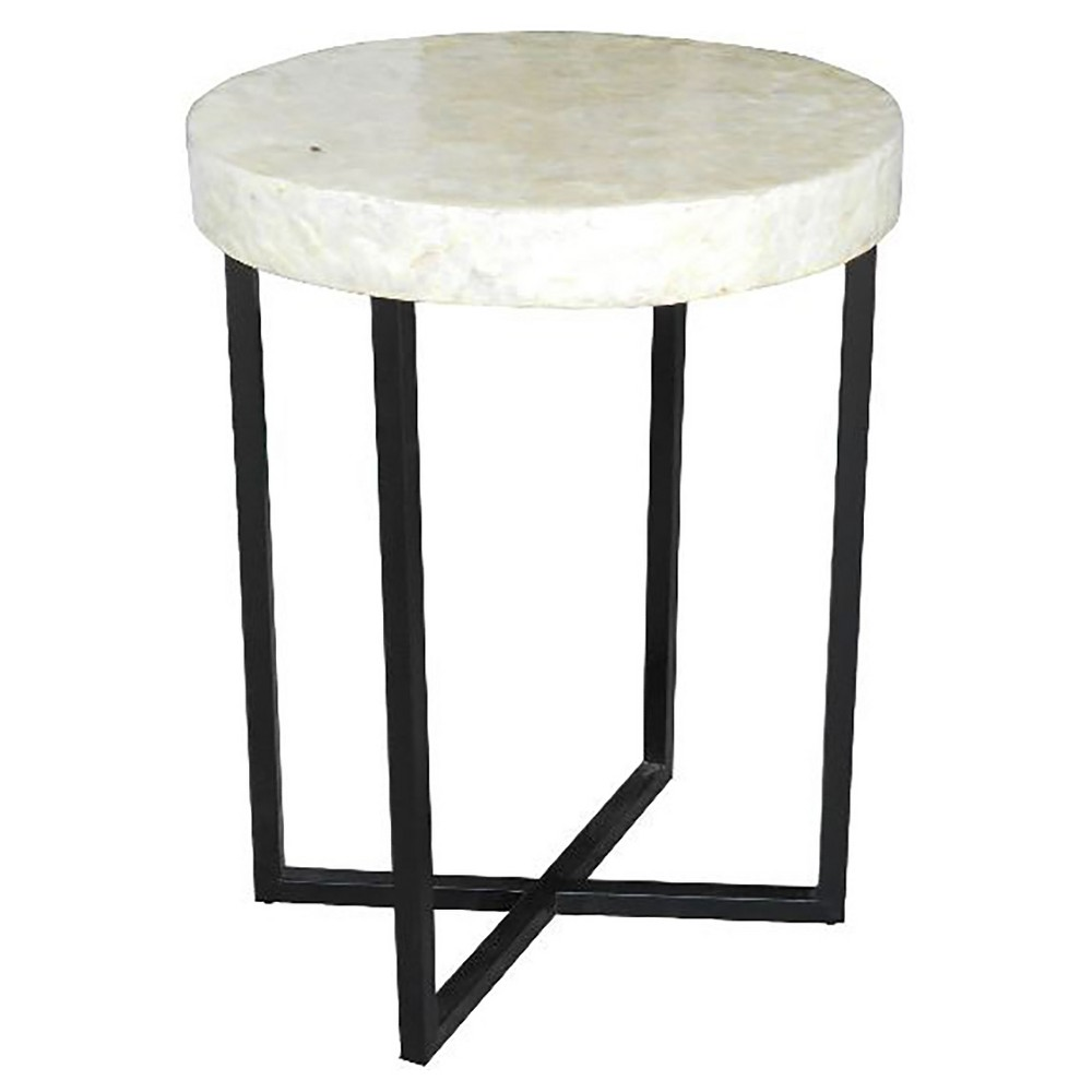 End Table White - Jeffan, Accent Tables