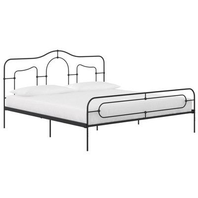 Frame Primrose Metal Bed with Secured Slats Headboard and Footboard - Mr. Kate