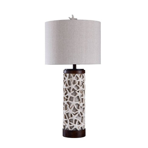 Sand Shell Table Lamp Bronze Cloud  - StyleCraft - image 1 of 1