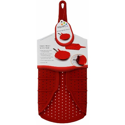 Squish collapsible Splatter Screen Red
