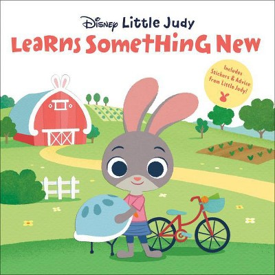 Little Judy Learns Something New (Disney Zootopia) - (Pictureback(r)) (Paperback)