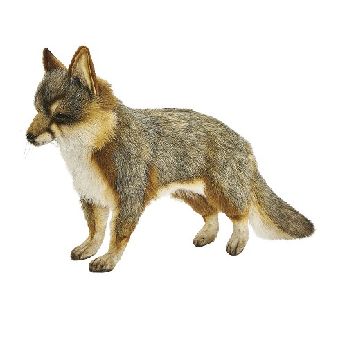 Hansa Fox Plush Toy Gray Target