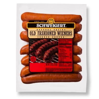 Schweigert Old Fashioned Wieners - 12oz/7ct