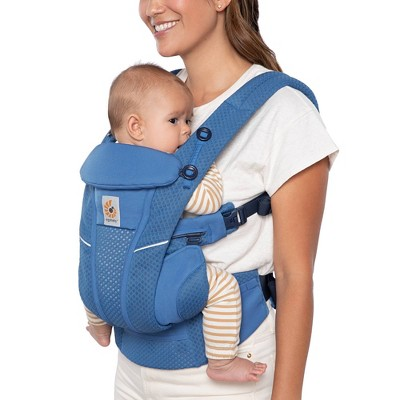 Ergobaby Omni Breeze All-in-1 Baby Carrier - Sapphire Blue