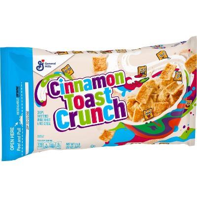 General Mills Cinnamon Toast Crunch Cereal Bag - 32oz