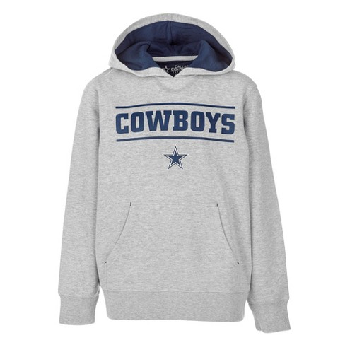 new products 5b223 e6519 NFL Dallas Cowboys Boys' Hal Charcoal Fleece Hoodie