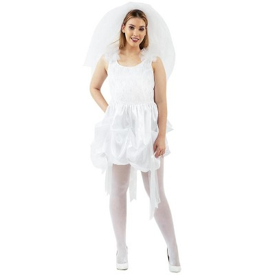 Orion Costumes 80's Bride White Wedding Dress Costume Adult