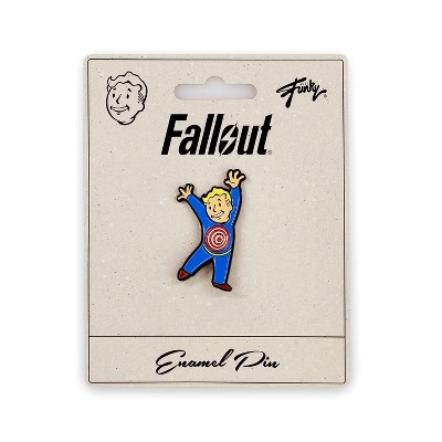 Just Funky Fallout Collectibles | Vault Boy Collector's Edition Moving Target Perk Pin