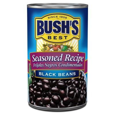 Bush's® Seasoned Recipe Black Beans - 15oz