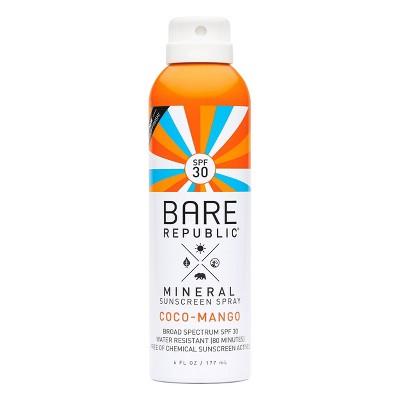 Bare Republic Coco Mango Mineral Spray - SPF 30 - 6 fl oz