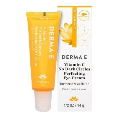 Derma E Vitamin C No Dark Circle Perfecting Eye Cream - 0.5oz