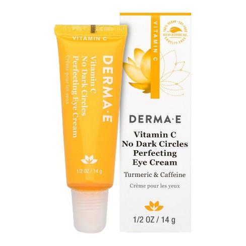 Derma E Vitamin C No Dark Circle Perfecting Eye Cream - 0.5oz - image 1 of 2