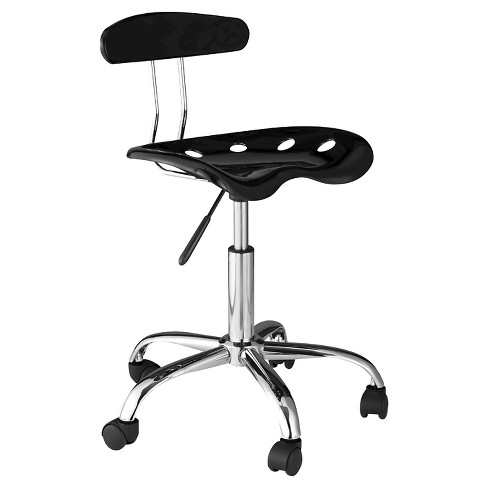 Tractor Seat Computer Task Chair with Back - Onespace - image 1 of 6
