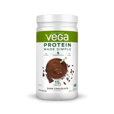 Vega Protein Made Simple Protein Powder - Dark Chocolate - 9.6oz